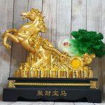 ln120 ngua vang keo cai 2 150x150 Thần ngựa vàng khủng kéo xe bắp cải xanh LN120