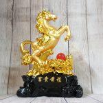ln128 ngua vang chau do 2 150x150 Vua ngựa vàng trên núi mẫu đơn hồng ngọc LN128