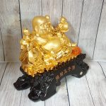 ln188 phat di lac ngu dong tu 2 150x150 Phật di lạc vàng bên ngũ đồng tử LN188