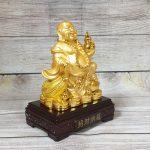 ln189 di lac cam ho lo vang 2 150x150 Phật di lạc cầm hồ lô và túi tiền vàng LN189