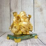ln191 di lac quay vang 1 150x150 Phật di lạc vàng gánh thùng tiền LN191