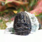 S6844 6 Phat ban menh hac nga mui than 150x150 Phật Như Lai Đại Nhật (tuổi Mùi + Thân) đá hắc ngà S6844 6