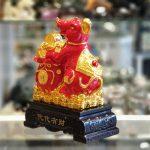 tm007 chuot do tui do 2 150x150 Chuột đỏ ôm túi tiền trên đống vàng TM007