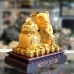 tm011 chuot vang tui vang 1 150x150 Chuột vàng kim sa ôm túi vàng TM011