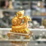 tm023 chuot vang tui vang de thuy tinh 1 150x150 Chuột vàng trên túi vàng đời đời phát tài TM023
